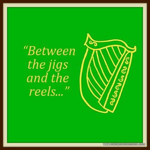 Irish Harp - Between the jigs and the reels.