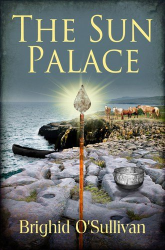 The book cover for The Sun Palace by Brighid O'Sullivan