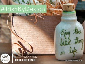Enjoy the little things in life Irish crafted bottle