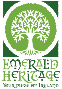 Green tree logo for Emerald Heritage