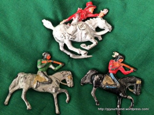 Grandpop's cowboy and indians