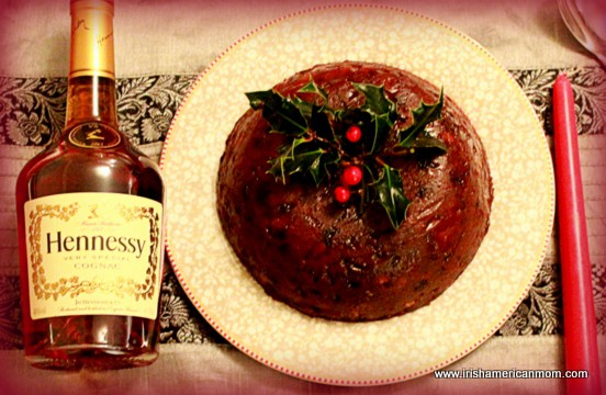 Brandy for lighting a plum pudding