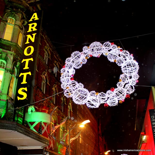 Christmas Lights by Arnotts Dublin