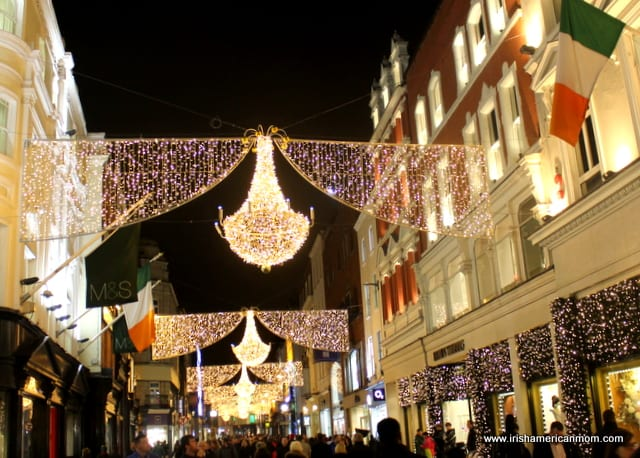 Christmas Lights on Grafton Street