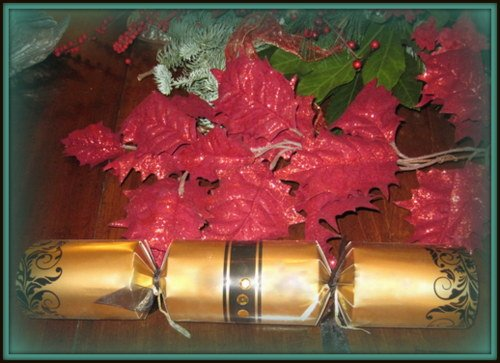 Golden Christmas Cracker