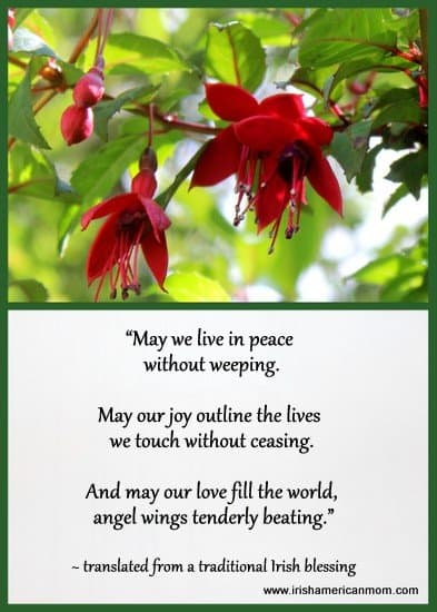 May we live in peace without weeping