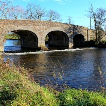 Marshallstown Bridge over the River Funcheon near Kildorrery, County Cork, Ireland