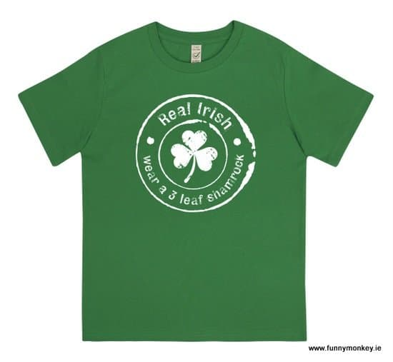 Green Irish T-Shirt For Kids - St. Patrick's Day Gift