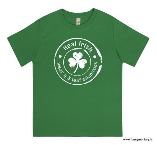 Green Irish T-Shirt For Kids - St. Patrick's Day Gift