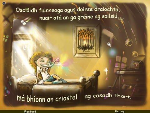 Irish Version of The Sunbeam Path