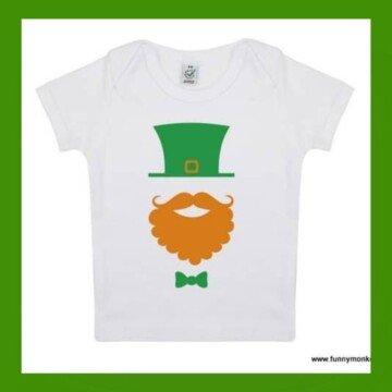 Leprechaun design on a t-shirt