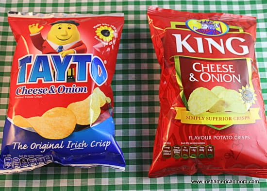 Tayto vs King crisps