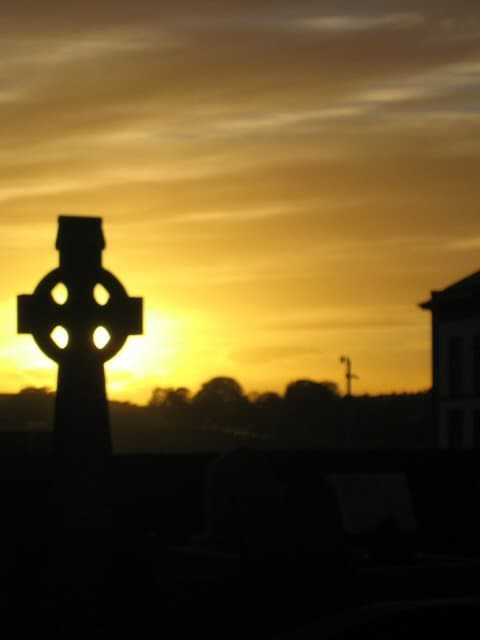 Celtic Cross at St Marys Limerick