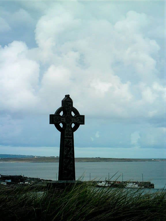 Celtic Cross on Inisheer, Aran Islands