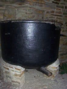 Famine pot, Lough Eske, Donegal