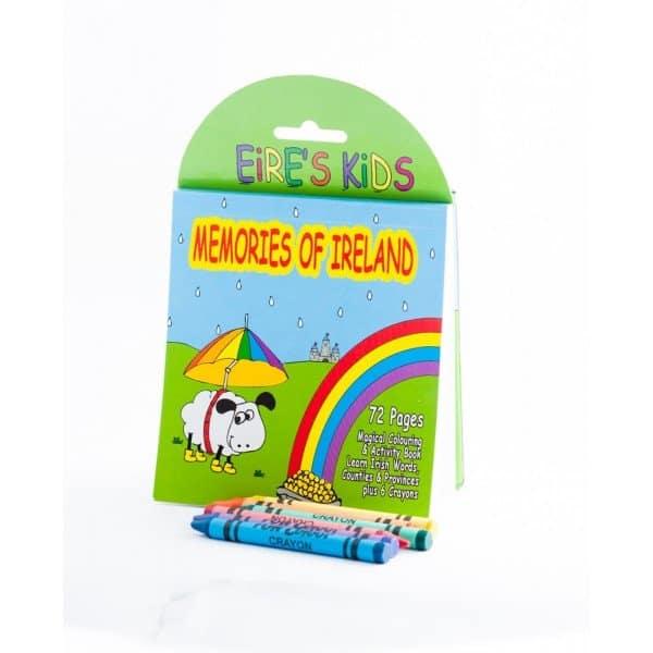 Memories of Ireland Coloring Book