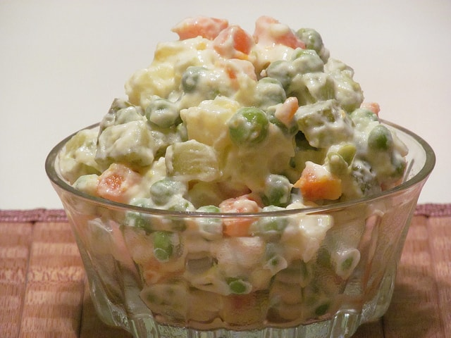 Russian salad - individual serving