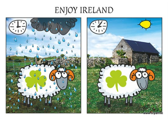 Giveaway Time – Quirky Irish Art by Olyart
