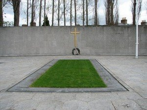 The site of the burial of those executed after the 1916 Rising in Dublin