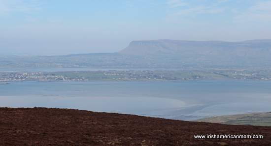 Ben Bulben as seen from Knocknarea