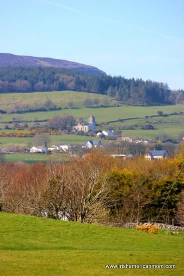Church on the side of Knocknarea