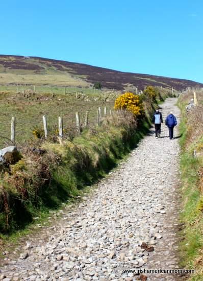 Climbing Knocnarea, Sligo