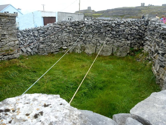 Clothes Line on the Aran Islands