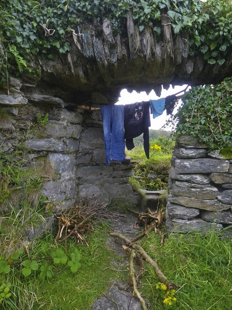 Laundry in the castle