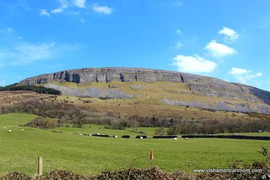 Looking at Knocknarea from Strandhill