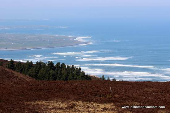 Looking towards Mayo from Knocknarea, Sligo