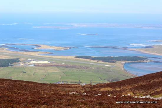 View from the top of Knocknarea