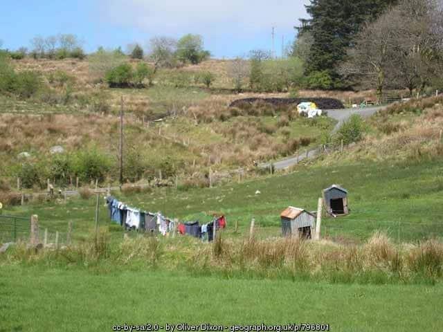 Washing line and dog kennels in Enniskillen