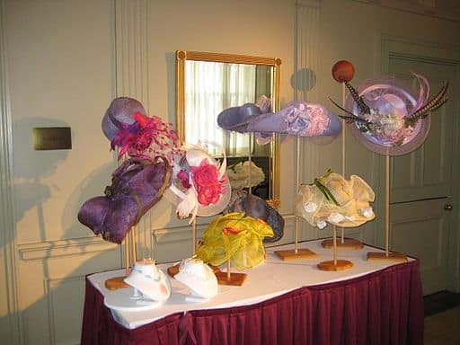 Derby Hat Display