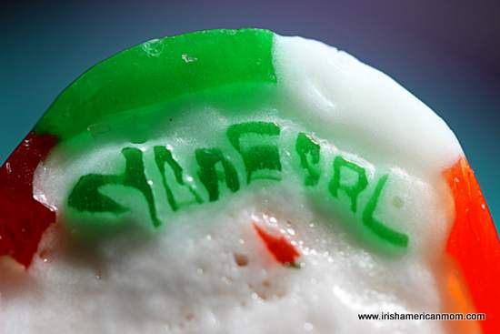 Donegal rock - a hard stick of boiled candy
