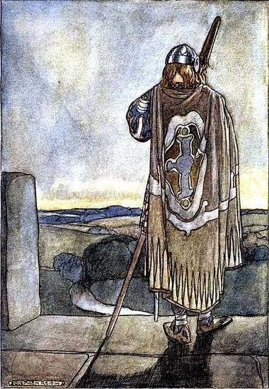 Fionnuala MacCumhaill listens to the fairy harp