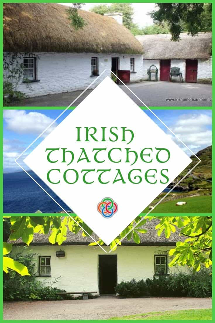 Thatched cottages are found all over rural Ireland