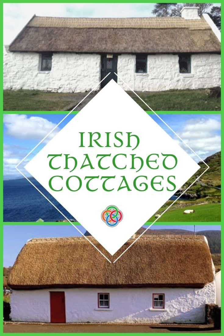 Irish thatched cottages are beloved symbols of Ireland.