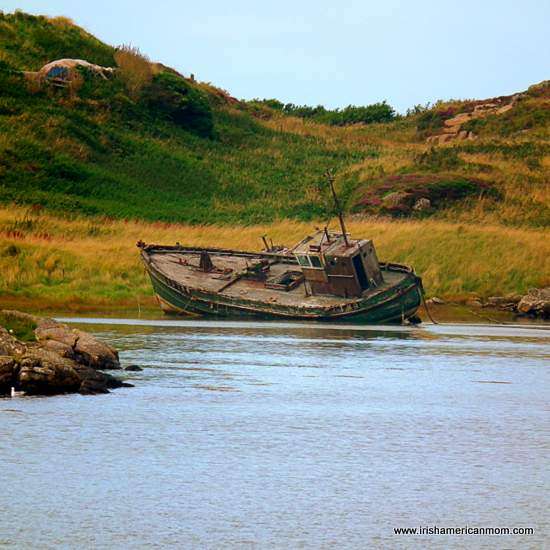 Old Boat in County Donegal