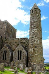 Round Tower at Cashel County Tipperary, Ireland