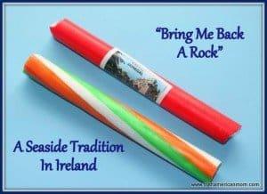 Seaside rock - a gift from Ireland