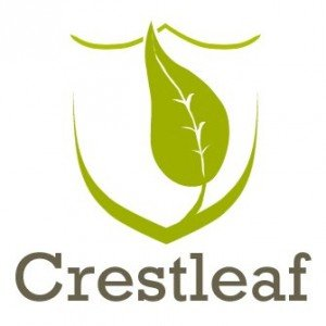 Logo for genealogy company Crestleaf