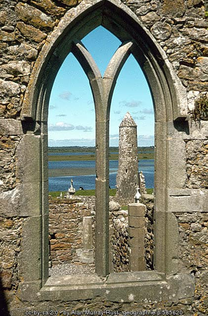 Clonmacnoise Round Tower, County Offaly