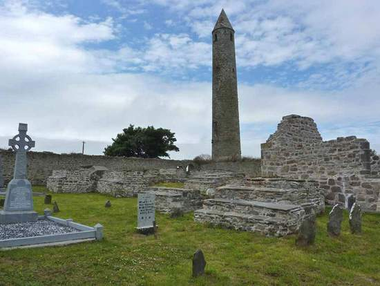 Ratoo Round Tower, County Kerry