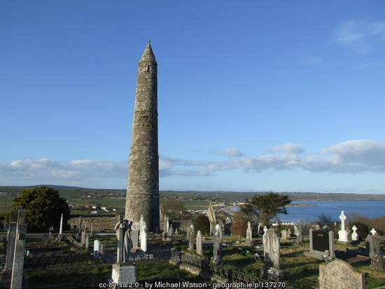 Round Tower at Ardmore, County Waterford