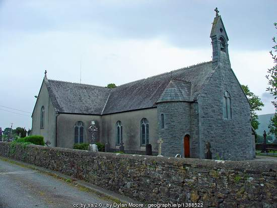 Rural church in Kilsheelan, County Tipperary