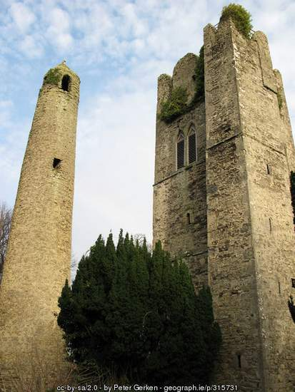 St. Columba's Tower, Swords, County Dublin