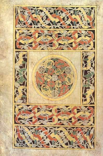 Celtic Knotwork from The Book of Durrow