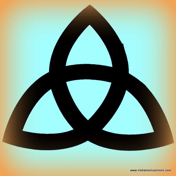 Celtic Trinity Knot - the Irish love knot