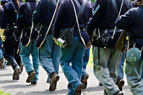 Civil War Marching Brigade - Reenactment