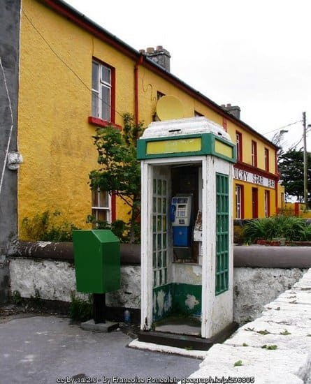 Old Irish Phone Box
